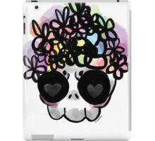 Flower Crown Skull  iPad Case/Skin