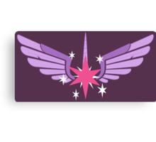 Princess Twilight Symbol Canvas Print