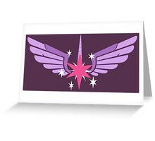 Princess Twilight Symbol Greeting Card