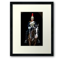 The Horse-guard Framed Print