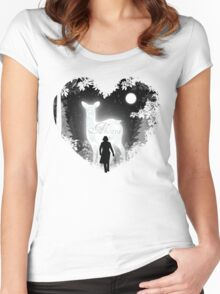 Always Heart Women's Fitted Scoop T-Shirt