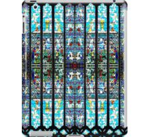Stained Glass Window  - Church Cathedral Light Picture  Christian Catholic iPad Case/Skin
