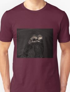 Sea Otters II Toned Unisex T-Shirt