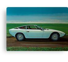 Maserati Khamsin Painting Canvas Print