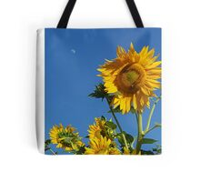 Sunflower Bee & Moon Tote Bag