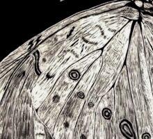 Moth on a Tree Sticker