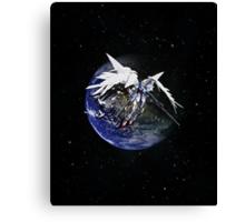 Gundam Wing: Endless Waltz - Zero Canvas Print