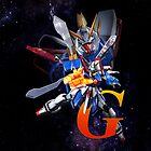 Mobile Fighter G Gundam - Shinning Gundam by coffeewatson