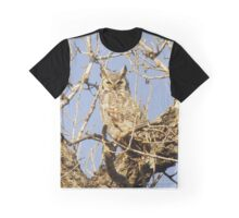 Wild Owl Graphic T-Shirt