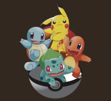First Generation Pokemon T-Shirt