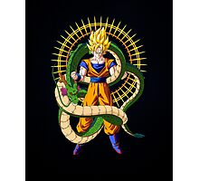 Shenron X Son Goku Photographic Print