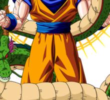 Shenron X Son Goku Sticker