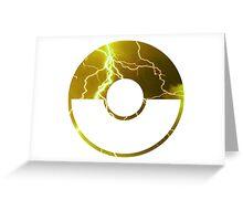 Team Instinct Pokeball Greeting Card