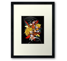 Dragon Ball Z - Son Goku Framed Print