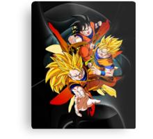 Dragon Ball Z - Son Goku Metal Print