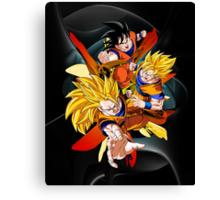 Dragon Ball Z - Son Goku Canvas Print