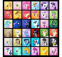Pony Blocks Photographic Print