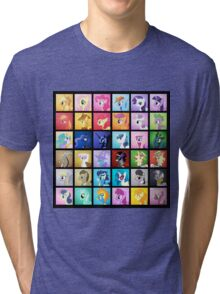 Pony Blocks Tri-blend T-Shirt