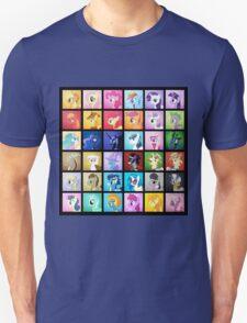 Pony Blocks Unisex T-Shirt