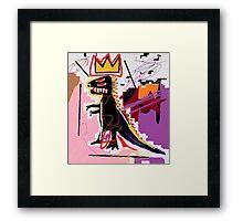 Basquiat Framed Print