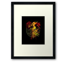 Full Metal Alchemist - Blood Rune Framed Print