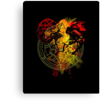 Full Metal Alchemist - Blood Rune Canvas Print