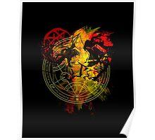 Full Metal Alchemist - Blood Rune Poster