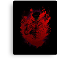 Shingeki No Kyojin - I Titan Will Never Die Canvas Print