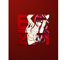 Fairy Tail - Erza Scarlet Photographic Print