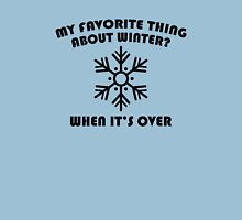Favorite Thing About Winter Unisex T-Shirt