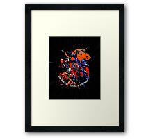 Evangelion - Mecha United Framed Print