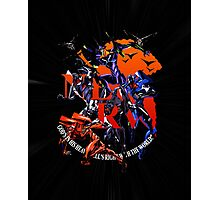 Evangelion - Mecha United Photographic Print