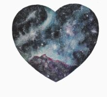 Galaxy Heart Kids Tee