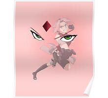 Pink Sakura Poster