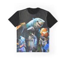 Shark Gang and Fish Friends - Finding Nemo: the Musical Graphic T-Shirt