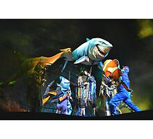 Shark Gang and Fish Friends - Finding Nemo: the Musical Photographic Print