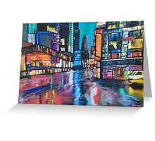Going downtown Greeting Card