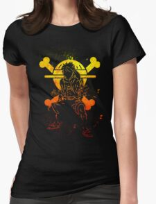 Grunge one piece Womens Fitted T-Shirt