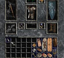 Diablo 2 Inventory by Chrine