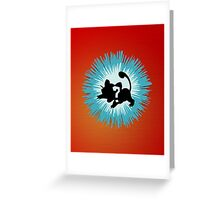 Who's that Pokemon - Rattata Greeting Card