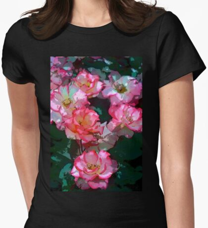 Rose 226 Womens Fitted T-Shirt
