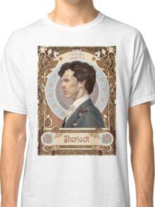Sherlock Art Nouveau Classic T-Shirt