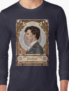 Sherlock Art Nouveau Long Sleeve T-Shirt