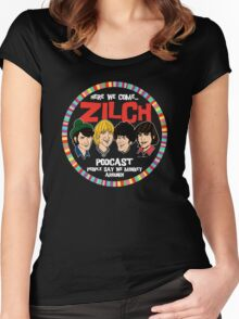 Zilch Podcast! Women's Fitted Scoop T-Shirt