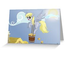 Derpy's delivery Greeting Card