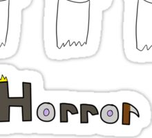 Hean & Horror Sticker Set Sticker