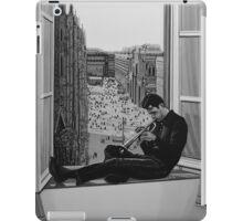 Chet Baker painting iPad Case/Skin