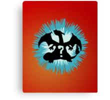 Who's that Pokemon - Charizard Canvas Print