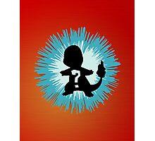 Who's that Pokemon - Charmander Photographic Print