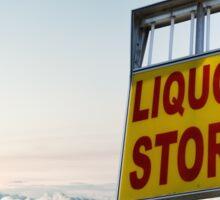 Liquor Store Sticker